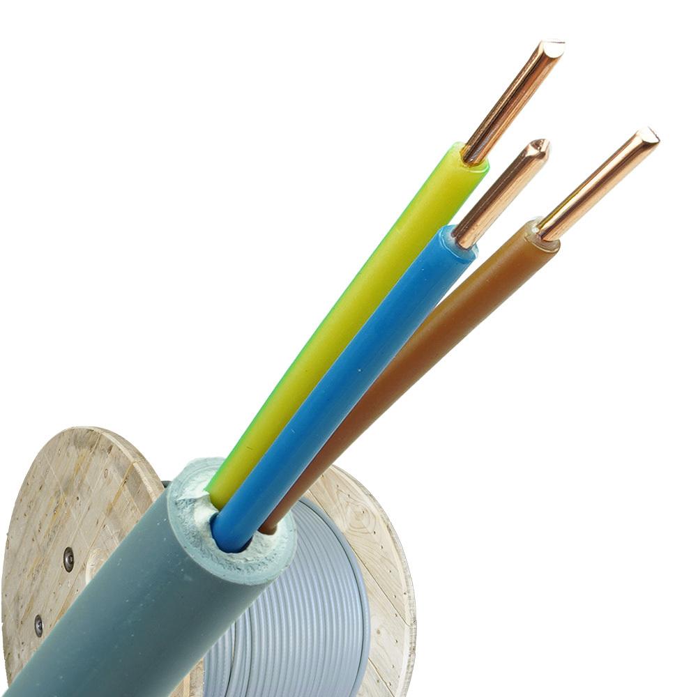 YMvK kabel 3x2,5 per haspel 500 meter