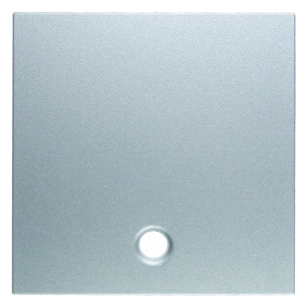 Berker centraalplaat voor trekschakelaar en trekimpulsschakelaar - S.1 aluminium (11461404)