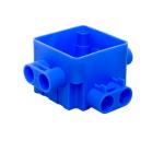 ABB centraaldoos 55 mm 4x16 mm laag + 4x16 mm hoog (165A)