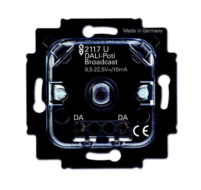 ABB Busch-Jaeger potentiometer voor lichtregelsysteem inbouw broadcast - dali (2117 U)