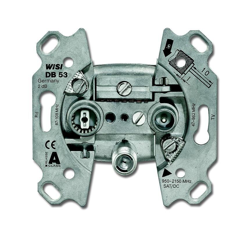 ABB Busch-Jaeger antennecontactdoos satster (0232-101)