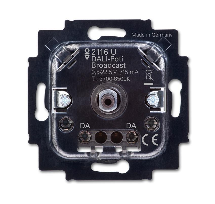 ABB Busch-Jaeger potentiometer voor lichtregelSysteem inbouw broadcast - dali (2116 U)