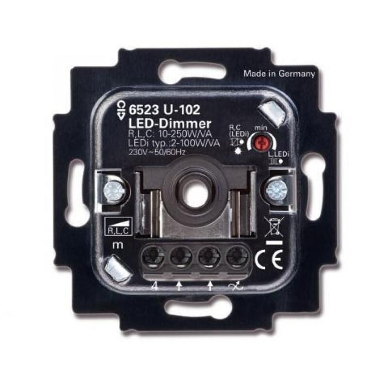 ABB Busch-Jaeger dimmer led 2-100W (6523 U-102)