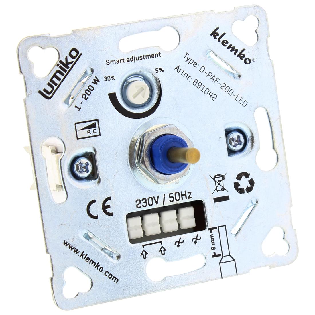 Lumiko Universele leddimmer van 1-200W (D-PAF-200-LED)