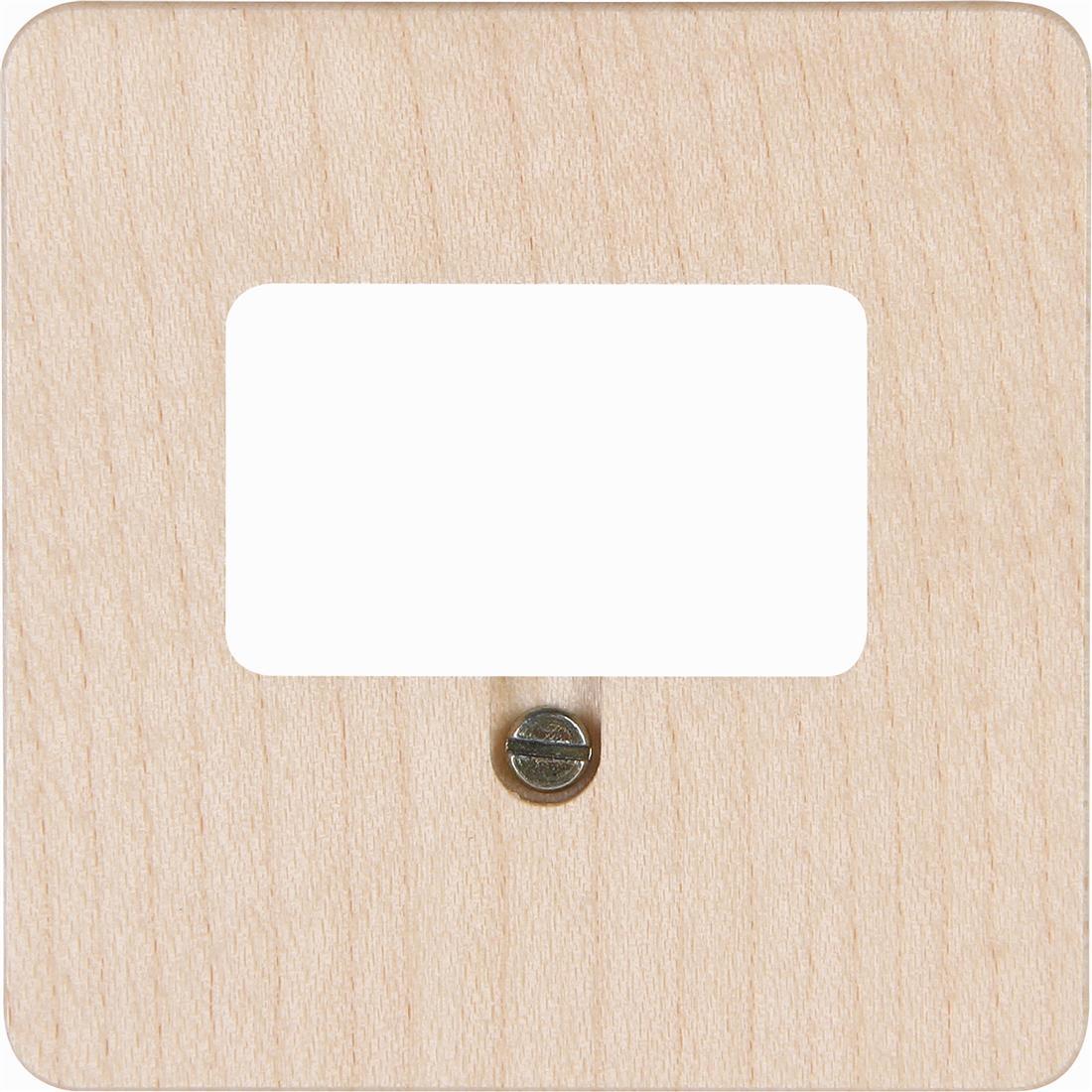 Kopp afdekking voor TAE telefoon aansluitdoos geschikt voor 1-3 aansluiting per 5