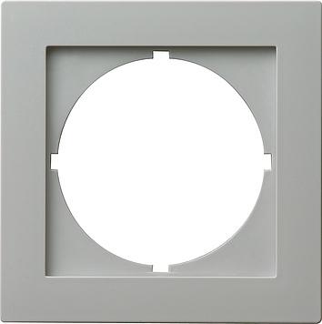 Gira S-color adapterraam rond 50x50mm grijs