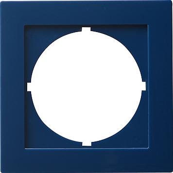 Gira S-color adapterraam rond 50x50mm blauw