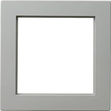 Gira S-color adapterraam vierkant 50x50mm grijs