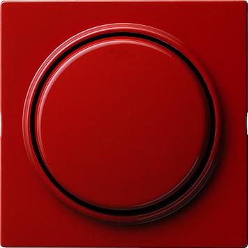 Gira S-color opsteekbare afdekking met wip rood