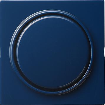 Gira S-color opsteekbare afdekking met wip blauw