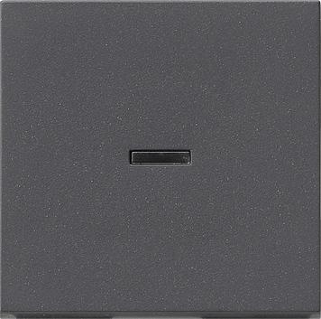 Gira schakelwip tast-controleschakelaar - systeem 55 antraciet (091428)