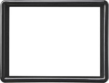 Gira S-color afdekraam voor 2-voudige wandcontactdoos zwart