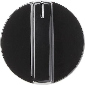 Gira S-color draaiknop zwart