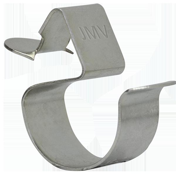 JMV spantklem 2-7 mm buis/kabeldiameter 10-14 mm per 100 stuks (9401211 )