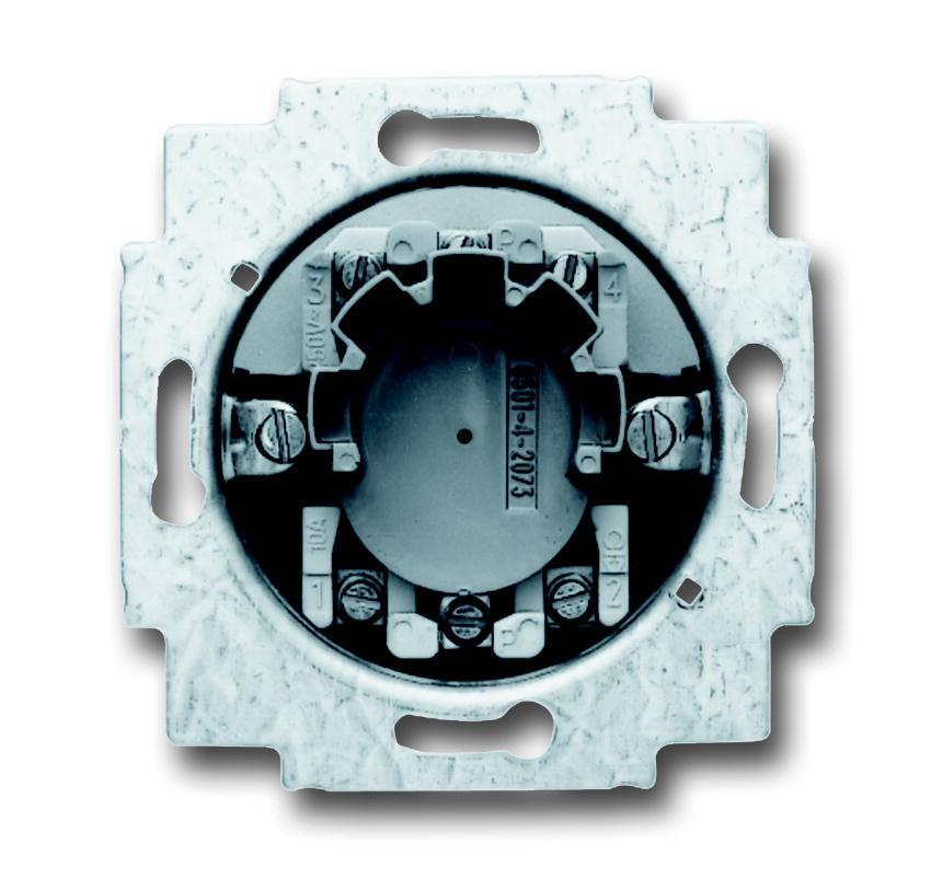 ABB Busch-Jaeger jaloezieschakelaarsokkel inbouw 2P +slot (2723 USL-101)