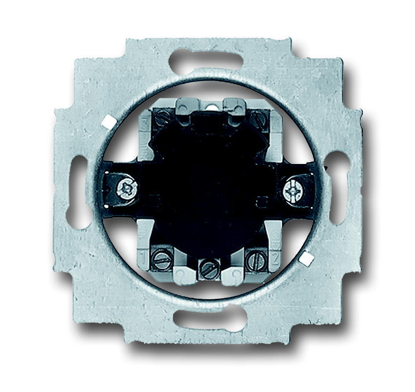 ABB Busch-Jaeger jaloezieschakelaarsokkel inbouw 1P +slot (2713 USL-101)