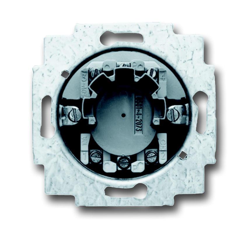 ABB Busch-Jaeger jaloezieschakelaarsokkel inbouw 1P +slot (2723 USL-101)