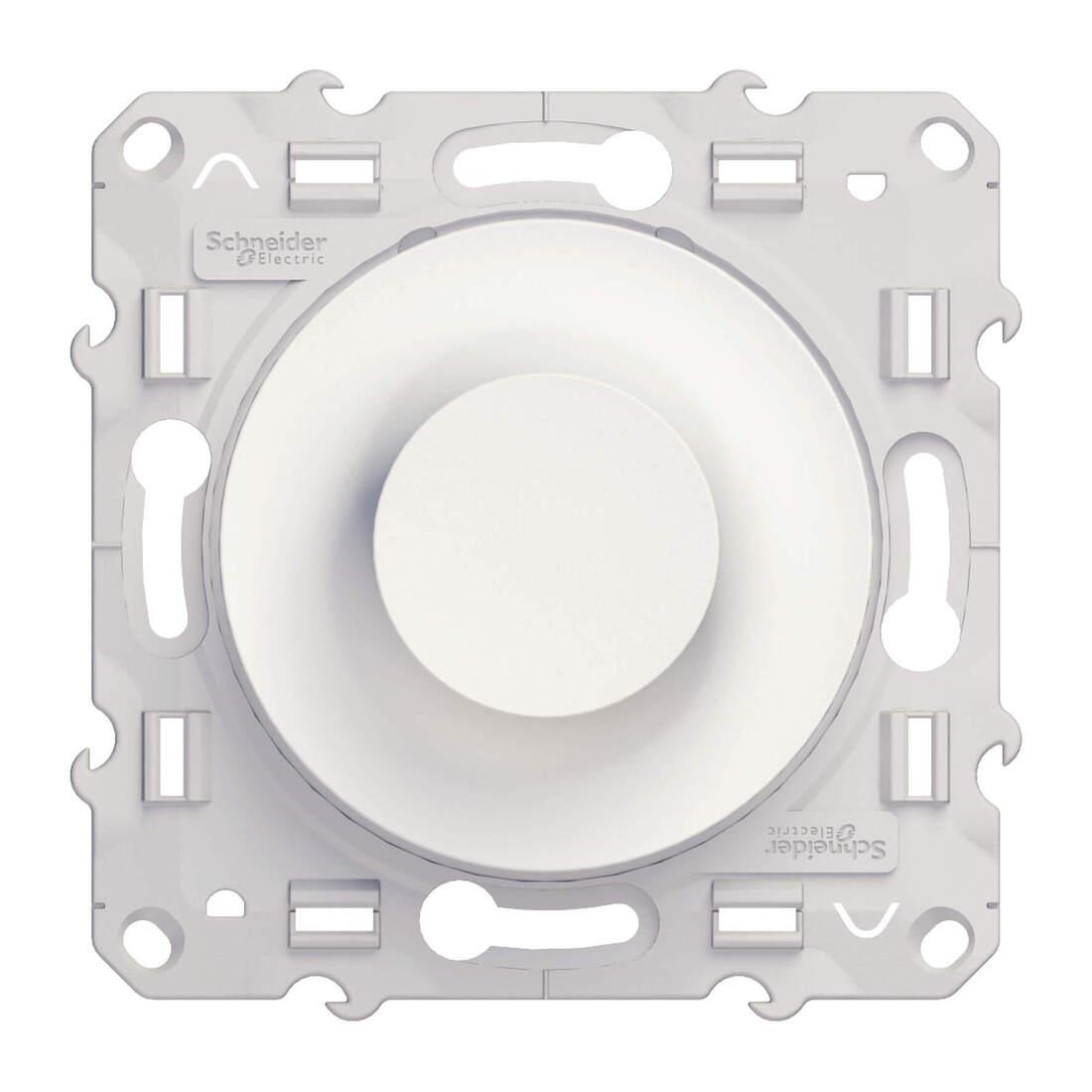 Schneider Electric Odace draaidimmer RL 40-600VS - wit (S520511)