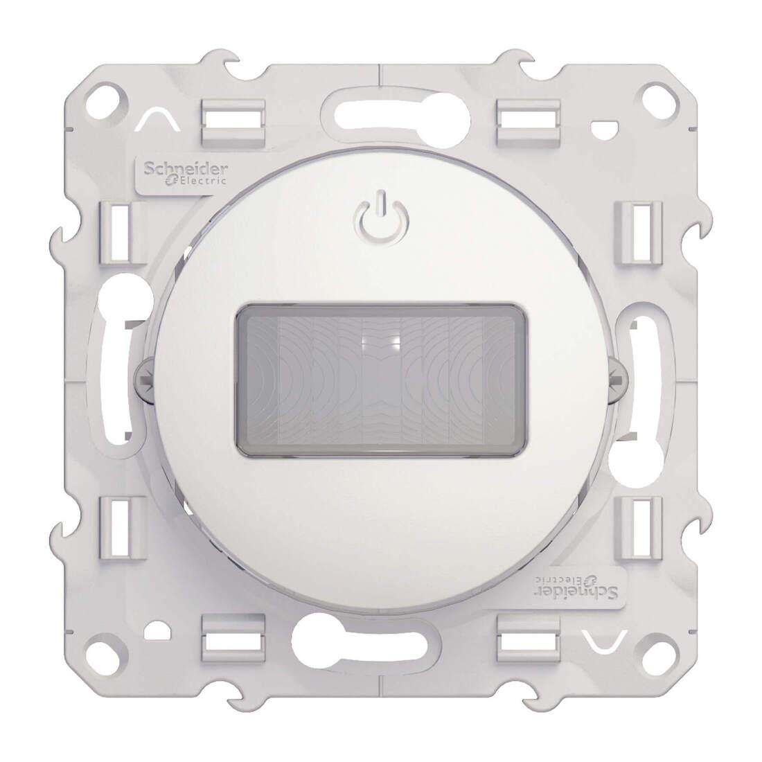 Schneider Electric Odace bewegingsdetector 10A 3 draden - wit (S520525)