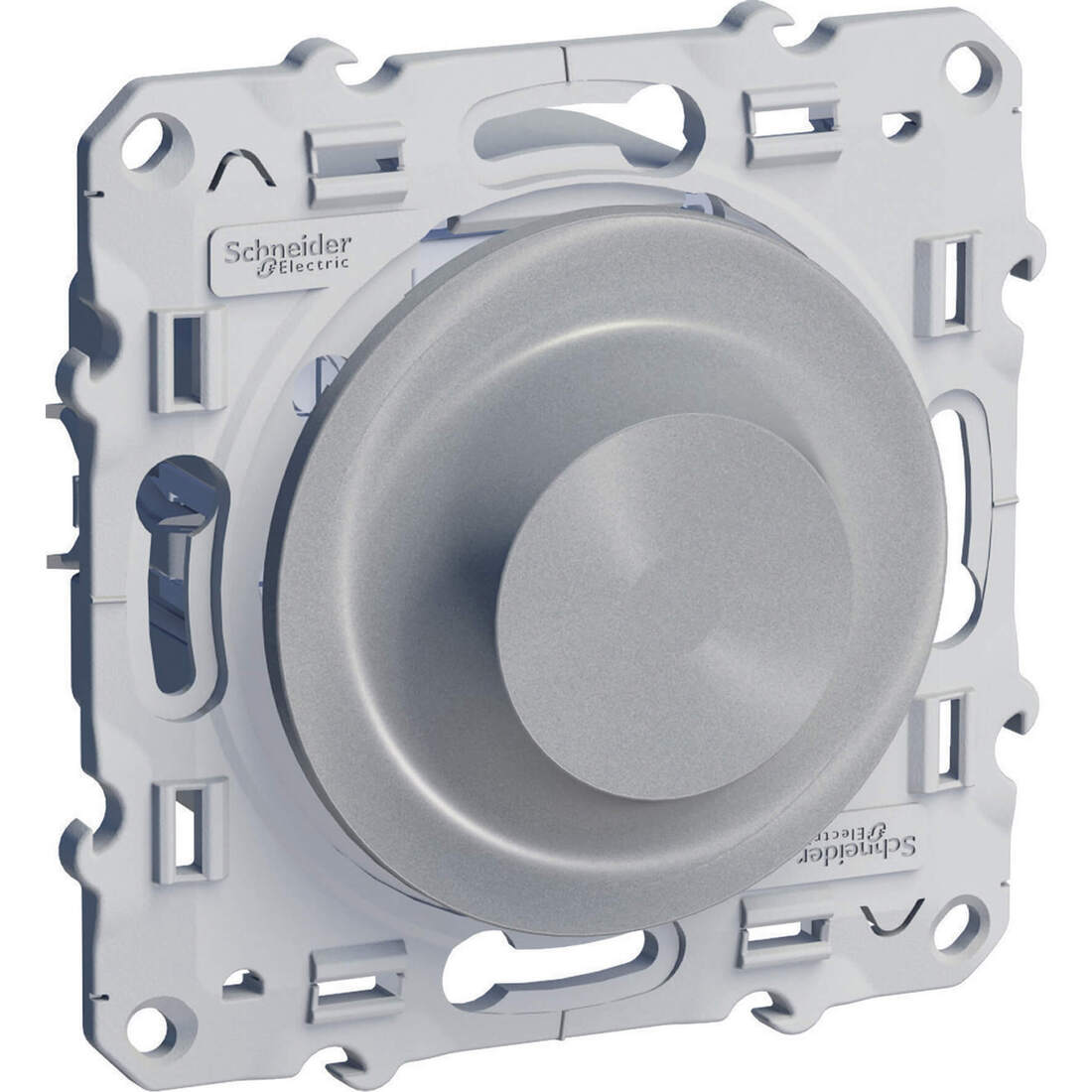 Schneider-Merten Odace universele draaidimmer 20-420VA aluminium