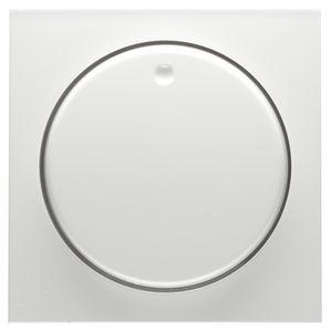 PEHA centraalplaat draaidimmer - Badora levend wit (D 11.810.02)